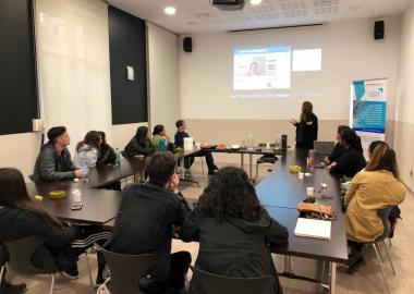 Prodeca presents European project EUREGA to students from universities in California