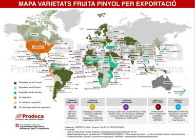 Prodeca publishes new map to meet sector needs to export stone fruit worldwide